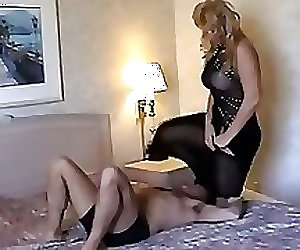 tall amazon big wife